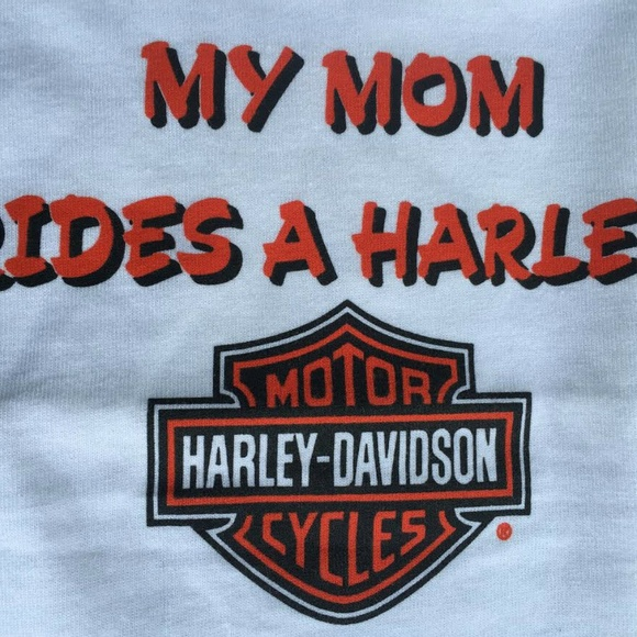 Harley-Davidson Other - My Mom Rides a Harley T Shirt 24 Months Baby New
